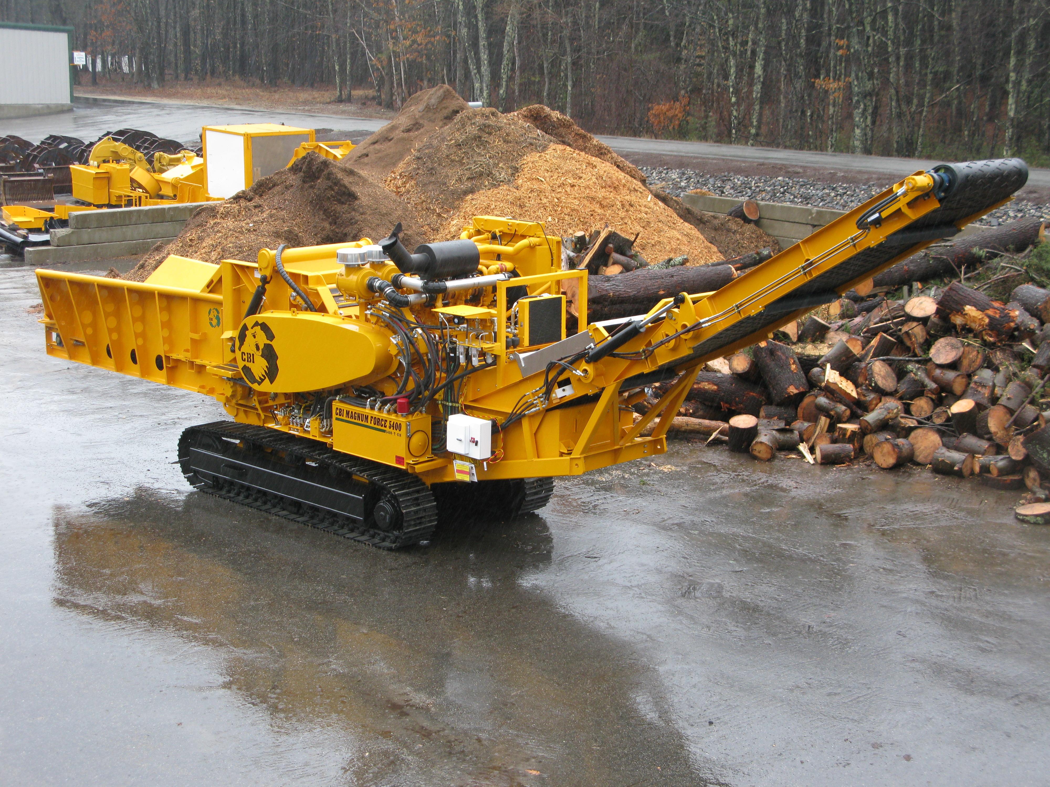 Cbi 5400t Wood Chipper