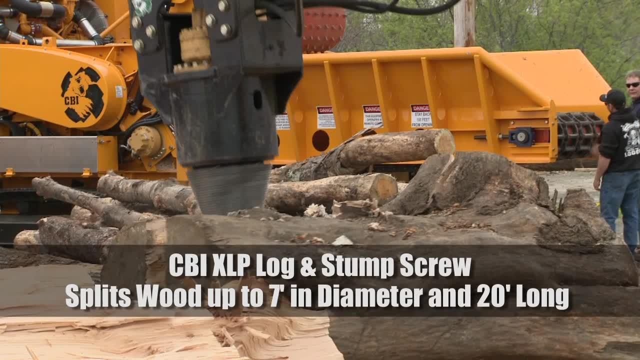 CBI XLP Log Screw Video
